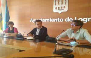 Conrado Escobar, Celia Sanz y Antonio Ruiz