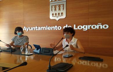 Celia Sanz y Patricia Lapeña