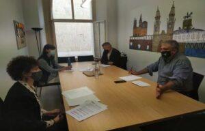Reunión Asociación de Taxistas de La Rioja
