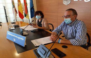 Celia Sanz y Ángel Sáinz